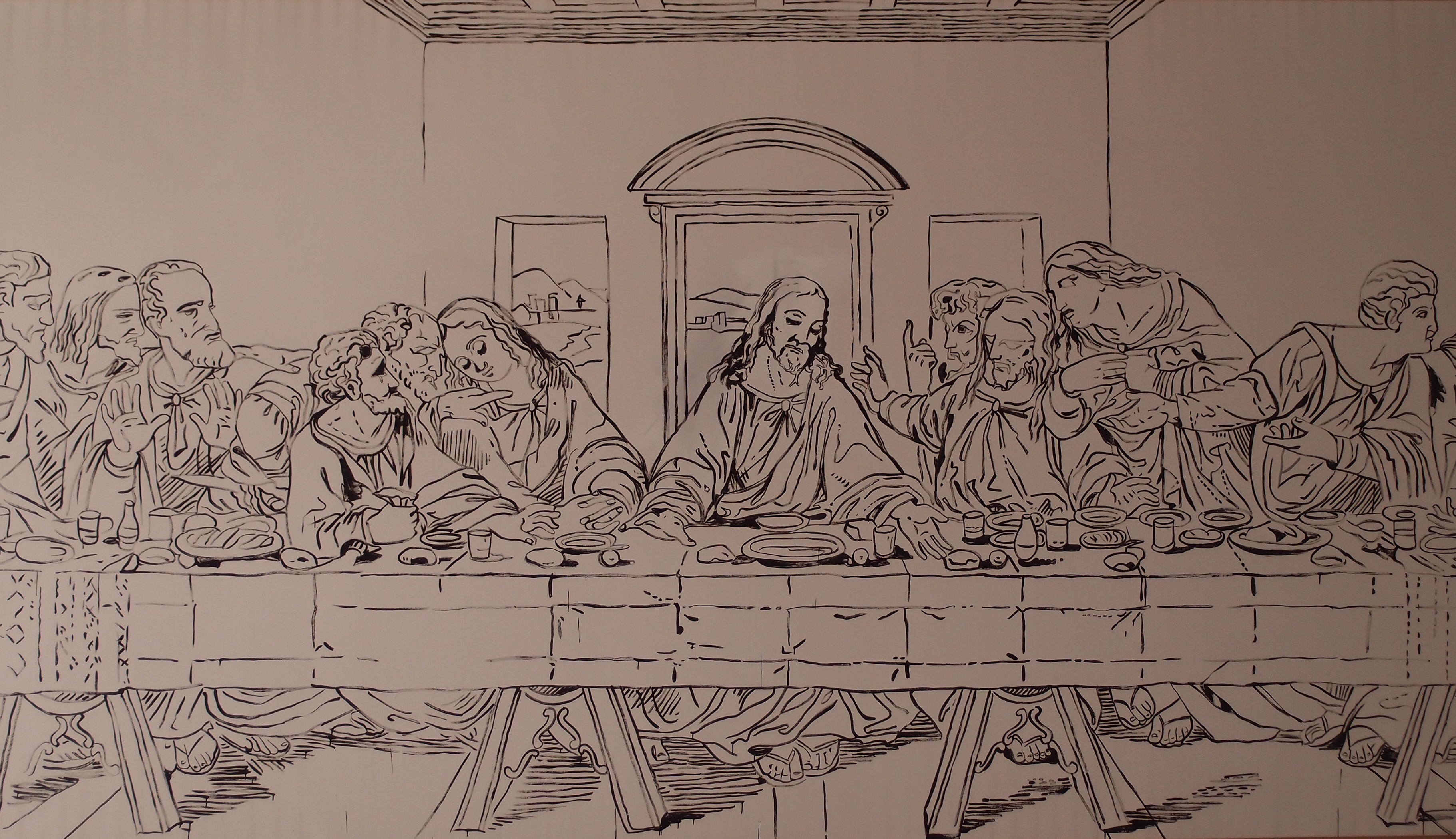 Andy Warhol Last Supper