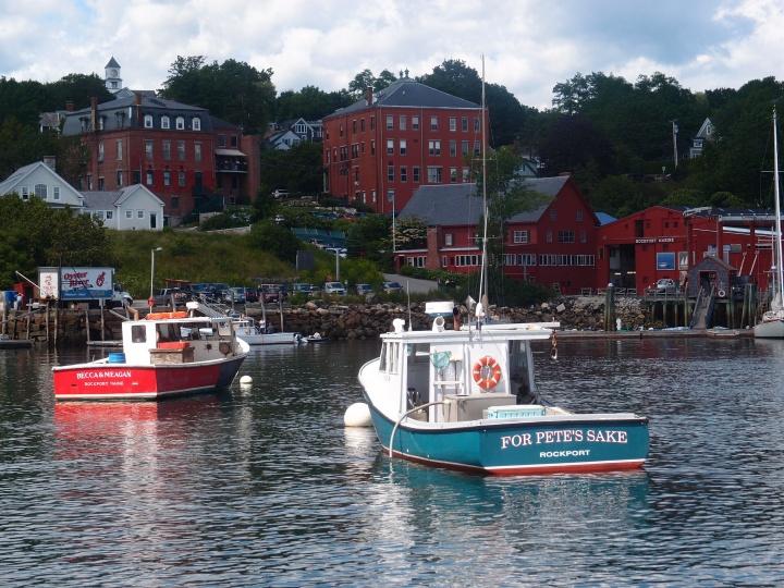 lobster boats/Rockport Harbor