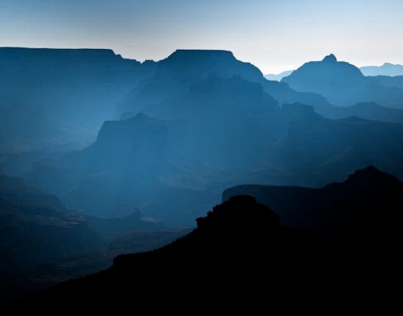 Majesty of the Grand Canyon at dawn