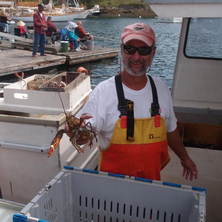 lobster guy
