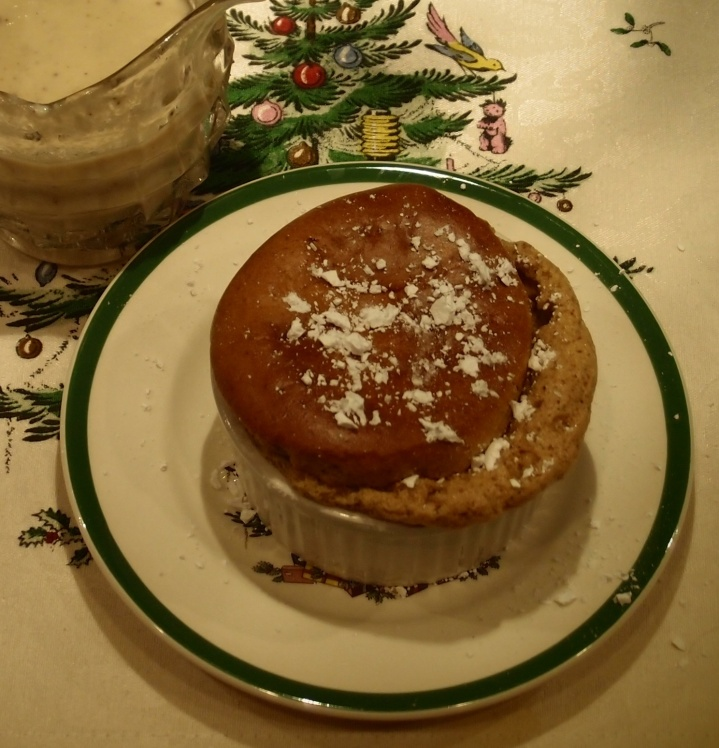 Gingerbread Souffle