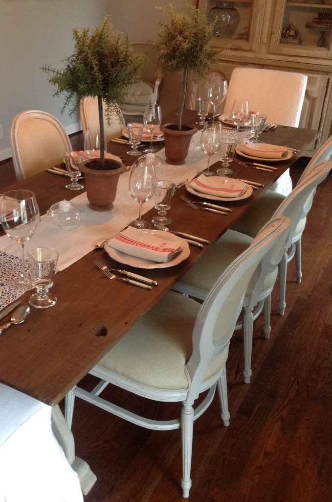 French country table