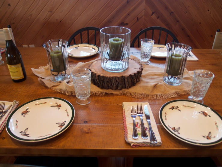 fish camp table