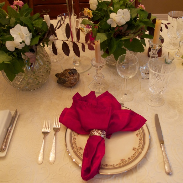 Pams tablescape