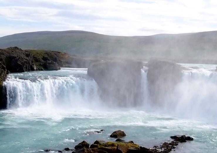 Iceland/waterfall