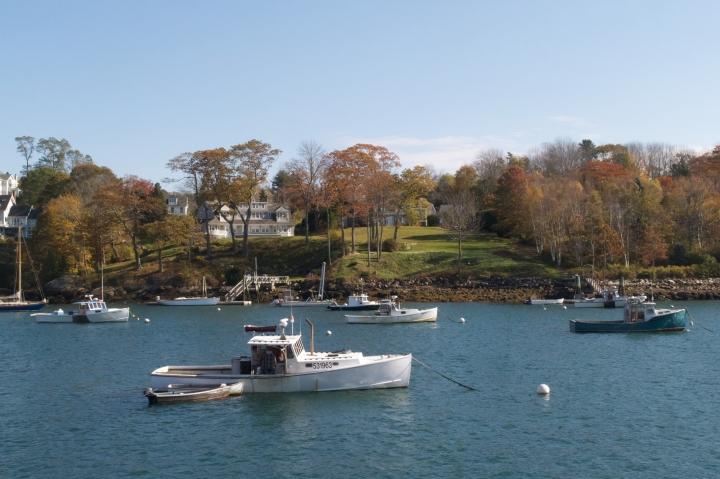 lobster boats, Rockport Harbor