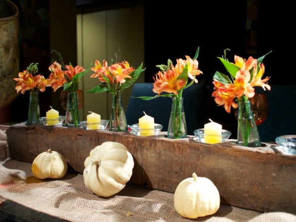 tablescape/pumpkins