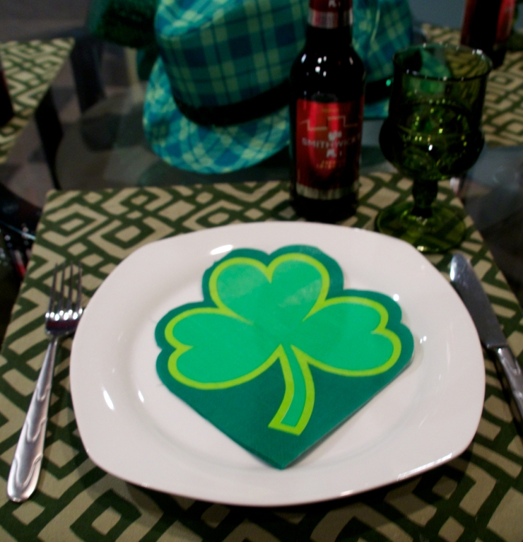 St. Patrick's table
