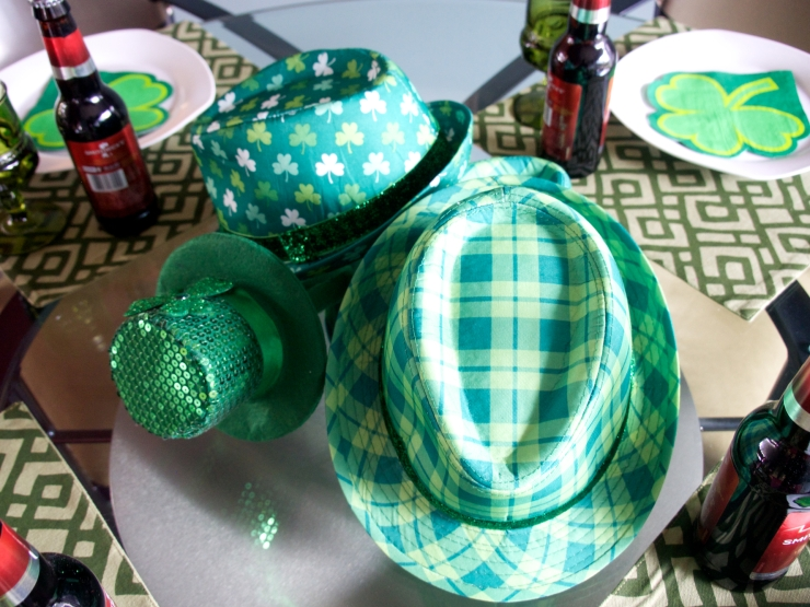 St. Patricks table
