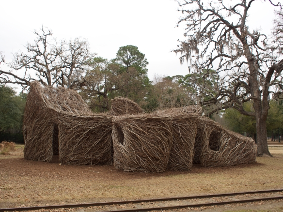 Patrick Dougherty in Houston