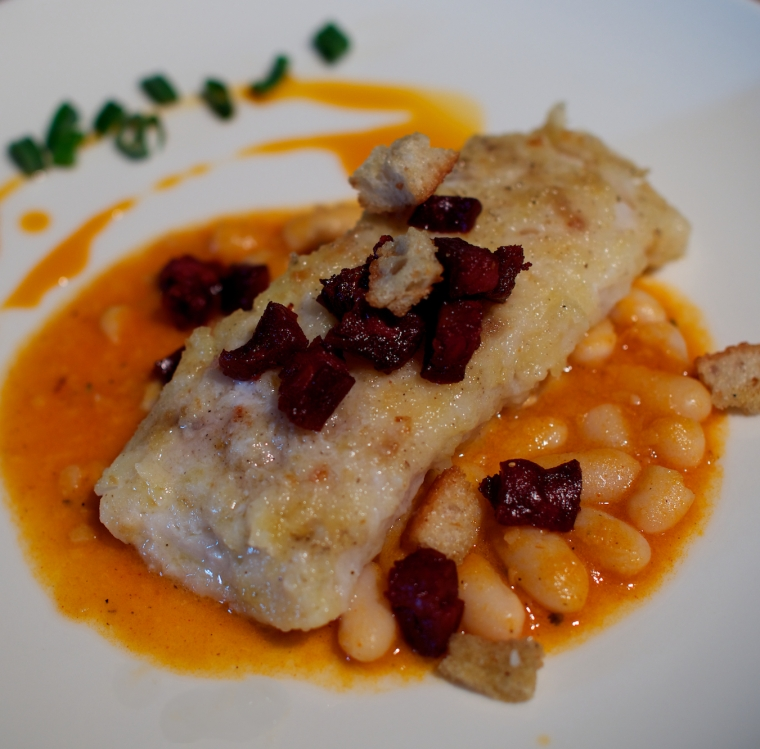 cod with white beans