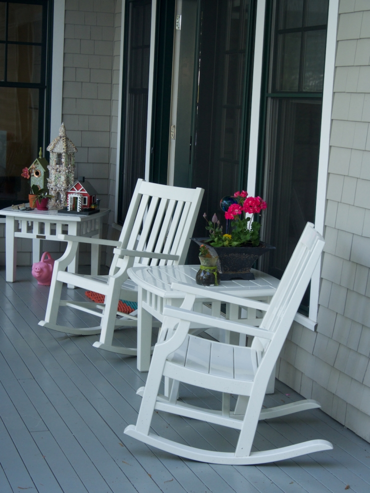 Maine house porch