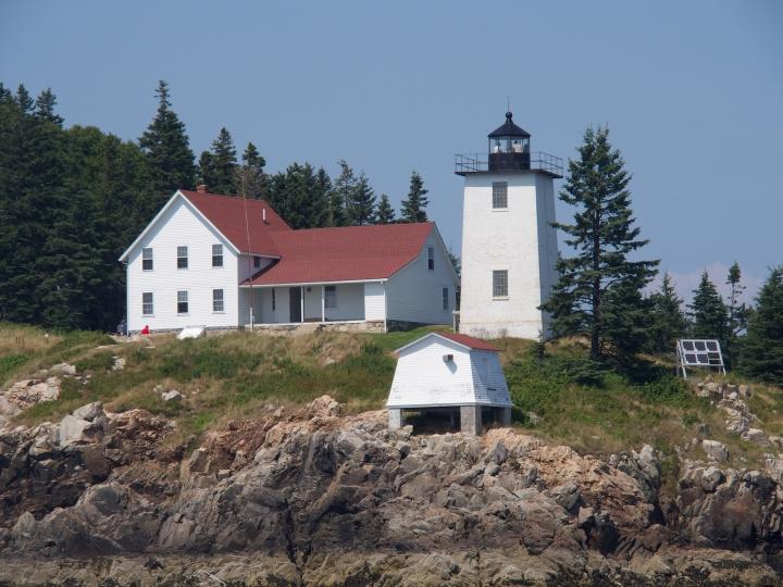 Swan's Island/lighthouse