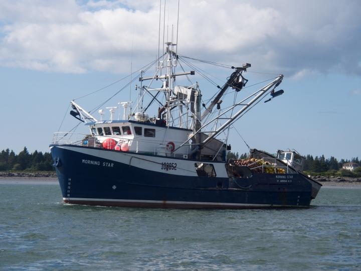Yarmouth/fishing boats