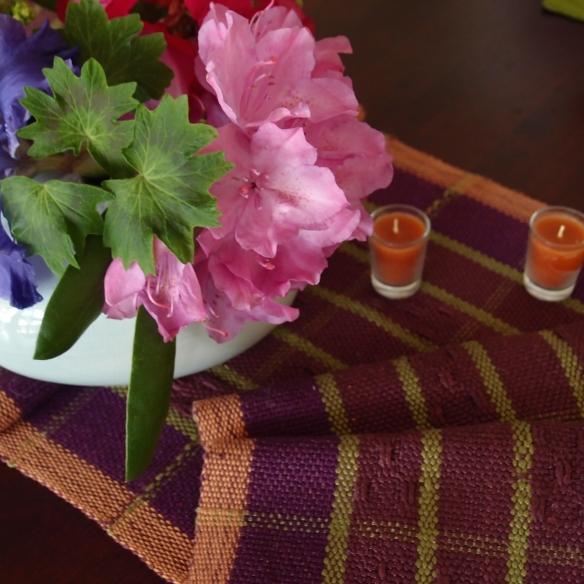 flowers/tablescape