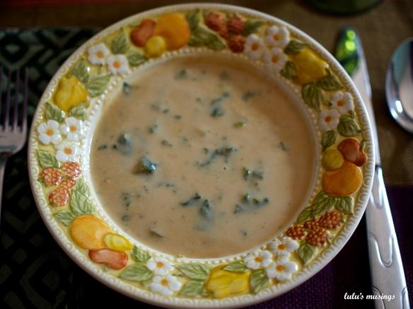 potato kale soup