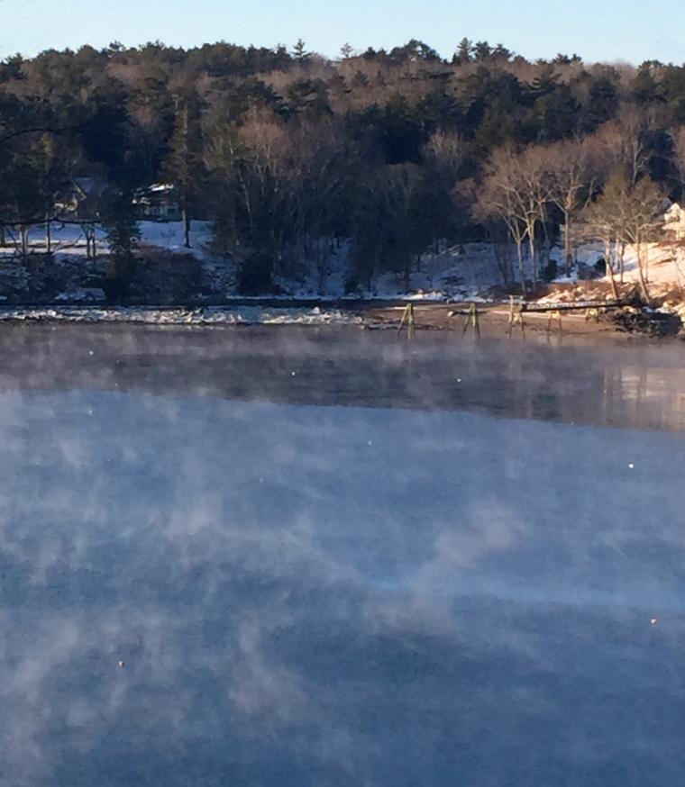 winter/sea smoke