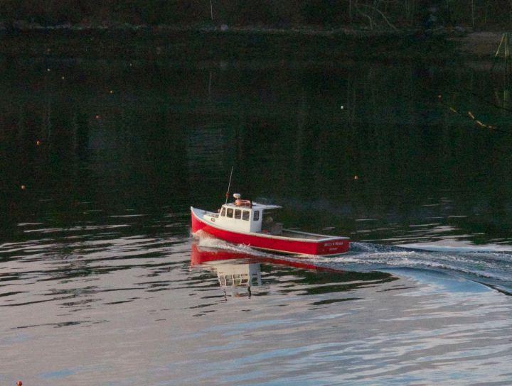 winter/lobster boats