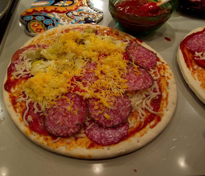 pizza/food