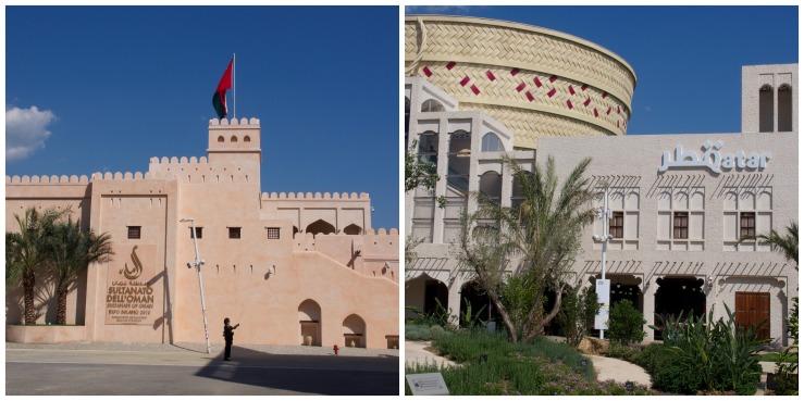 Oman and Qatar